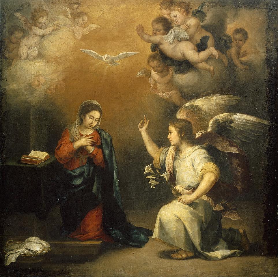 Resultado de imagem para anunciação de maria santíssima