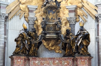 Chair-of-St.-Peter-Rome