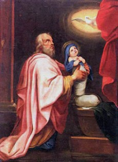 Joachim et sa fille Marie (Jacques Stella