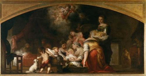 Natividade da Virgem by B.E.Murillo